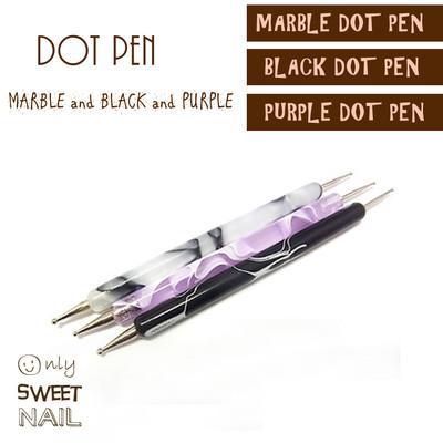 ネイル レジン 耳つぼ アート用 高級ドットペン 多彩なドットを簡単に♪