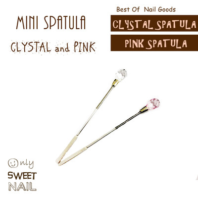 ミニスパチュラ ジェルの攪拌に便利なツール